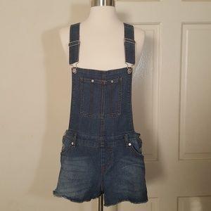 Tinseltown Jeans Overalls Cutoffs